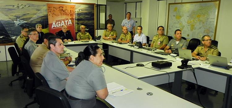 Ministério da Defesa inaugurou Centro de Coordenação de Logística e Mobilização para dar apoio à Ágata 9