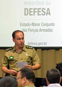 O coronel do Exército Ricardo Bezerra assumirá o 23º contingente no Haiti