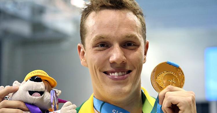O sargento do Exército Henrique Rodrigues conquistou medalha de ouro nos 200 m medley - Foto: Danilo Borges / Brasil 2016