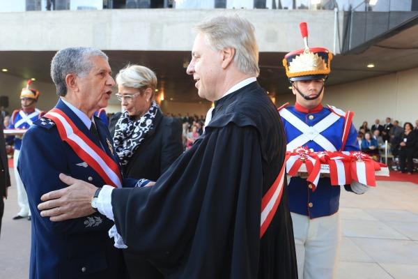 Presidente do STM é condecorado com a Ordem do Mérito Judiciário do Trabalho