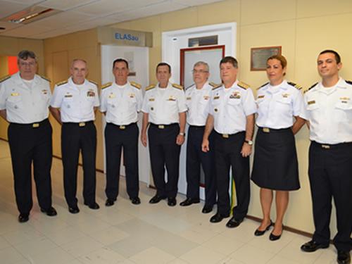 Escritório de Ligação do Abastecimento com a Saúde é inaugurado no Hospital Naval Marcílio Dias