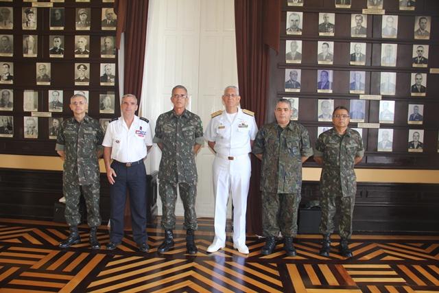 Comando Militar do Norte promove reunião Bilateral com as Forças Armadas Francesas