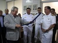 Entrega do Brasão do Comando do 3º Distrito Naval à SOAMAR CE