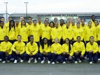 Grupamento de atletas foi recebido no Batalhão da Guarda Presidencial de Brasília