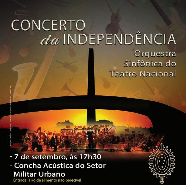 Concerto da Independência em Brasília