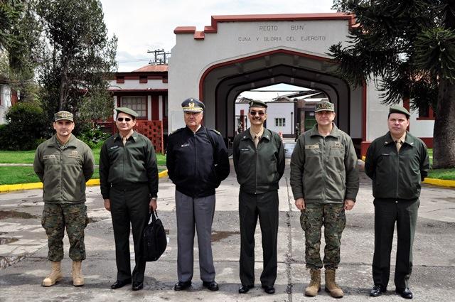 Intercâmbio entre o Sistema Cultural do Exército Brasileiro e do Exército do Chile