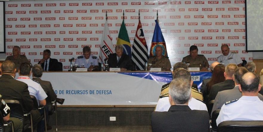 Abertura do Curso de Gestão de Recursos de Defesa 2015