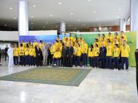 Atletas participantes dos JMM