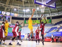 O basquete brasileiro disputa medalha de bronze com a Coreia, neste sábado (10) (Foto: sargento Johnson Barros)