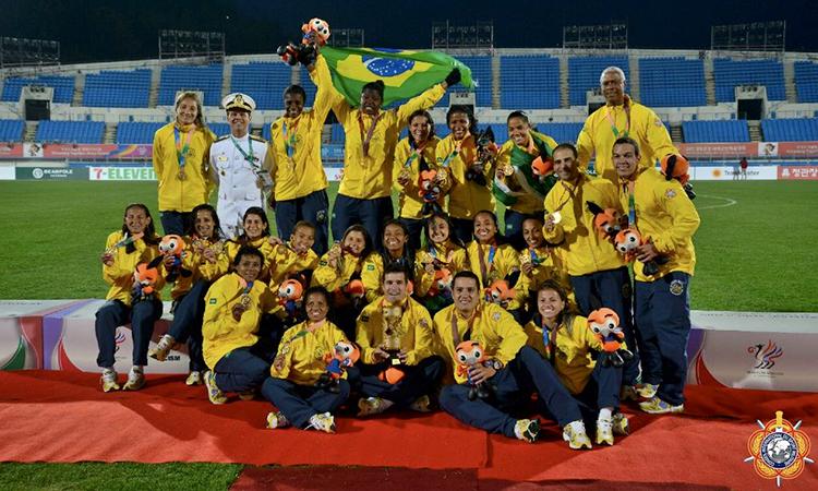 O Brasil se consolida como potência no desporto militar nos Jogos Mundiais na República da Coreia