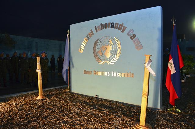 Sede dos Contingentes Militares em Porto Príncipe recebe a denominação de Campo General Jaborandy