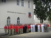Veteranos do Corpo de Fuzileiros Navais recebem o Comandante da Marinha