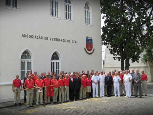 AVCFN recebe visita do Comandante da Marinha do Brasil