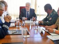 Jaques Wagner agradeceu o trabalho dos militares ao longo dos noves meses que esteve à frente da Defesa