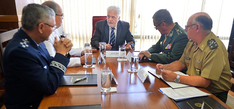Ministro Jaques Wagner reúne-se pela última vez com os comandantes das Forças