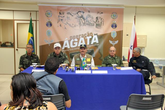Ministro da Defesa acompanha a Operação Ágata X em Belém e Oiapoque