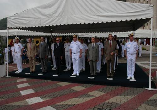 Cerimônia Militar alusiva ao 166º aniversário do CSM