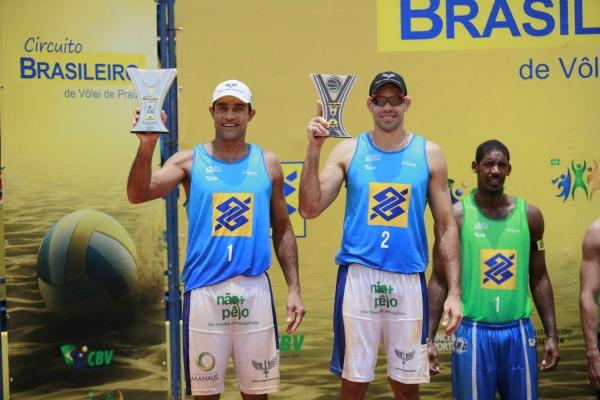 Dupla de sargentos da FAB é prata em circuito nacional de vôlei de praia