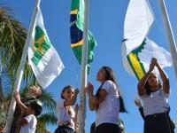 Exército realiza ação para difundir valores cívicos aos alunos das escolas públicas e particulares de Brasília