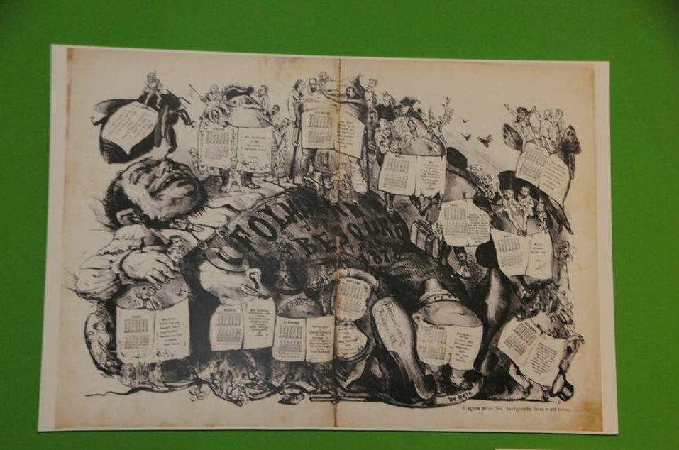 Mostra de Caricaturas: Nasce a República, na Casa Histórica do Mal Deodoro