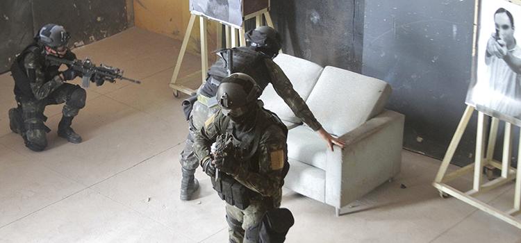 Forças de Operações Especiais se preparam para as Olimpíadas 2016
