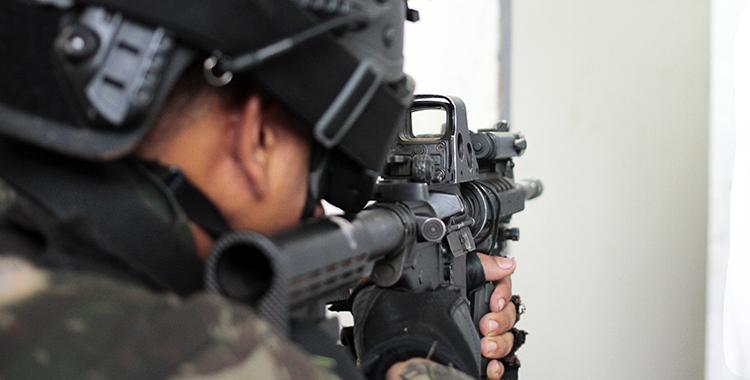 As Forças de Operações Especiais atuam em situações contraterrorismo e em operações urbanas