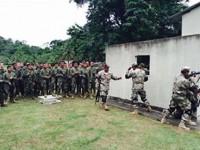 Fuzileiros Navais brasileiros e peruanos ministram treinamento na Oficina de Operações Militares em Área Urbana