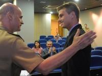 Aprovados para carreira de diplomata conhecem unidades militares das Forças Armadas