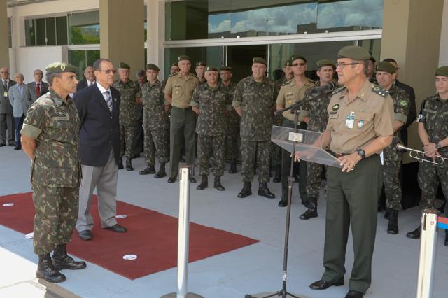 Base Administrativa do Quartel-General do Exército comemora seu primeiro aniversário