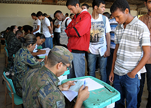 Forças Armadas convocam reservistas para atualização de cadastro