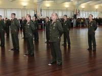 Foram promovidos cinco da arma de Infantaria, quatro de Cavalaria, dois de Artilharia, dois engenheiros militares, um de Intendência, um de Engenharia e um de Comunicações.