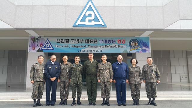 Assessoria Especial de Grandes Eventos do Ministério da Defesa troca Experiências com a Coreia do Sul