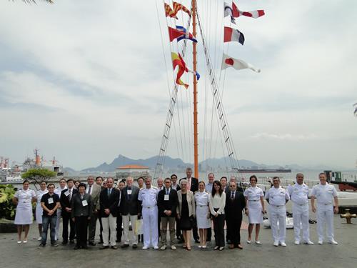 DHN sedia a 28ª Reunião do Subcomitê de Nomenclatura de Feições Submarinas da OHI/COI
