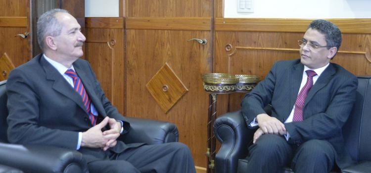 Embaixador da Mauritânia no Brasil, Abdallahi Bah Nagi Kebd, reforçou o interesse em expandir as relações bilaterais