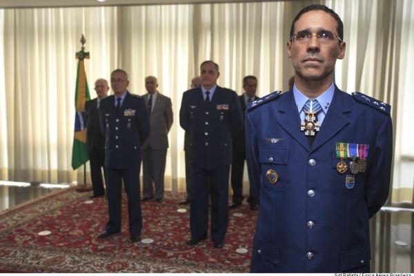 Major-Brigadeiro Barros assume chefia do Centro de Controle Interno da Aeronáutica