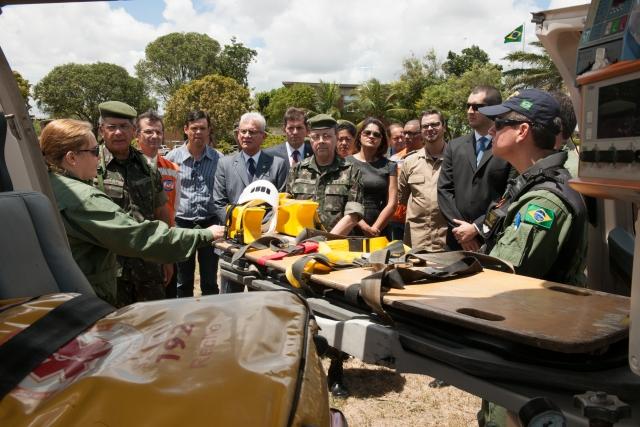 Força de Ajuda Humanitária realiza exercício inédito com Agências Governamentais
