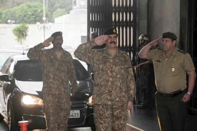 Chefe do Estado-Maior do Exército do Paquistão Visita o Comando Militar do Leste