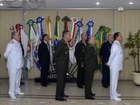 O almirante Sobrinho ressaltou que pretende dar continuidade aos projetos do EMCFA