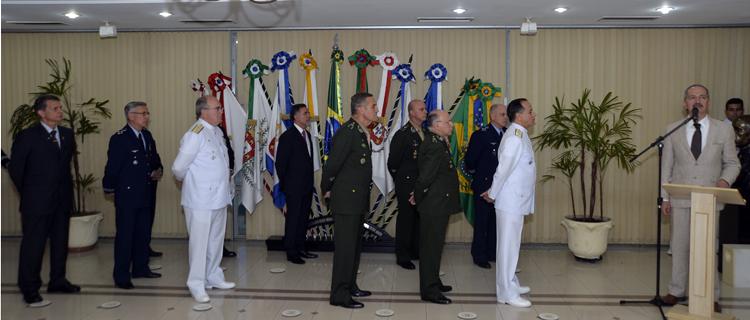 Almirante Ademir Sobrinho toma posse como chefe do EMCFA