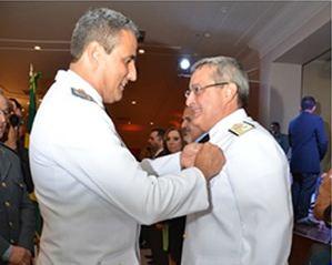 Marinha do Brasil participa de solenidade no Salão Rio Solimões em Manaus (AM)