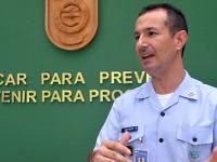 Major aviador Regis ministrou sobre aspectos jurídicos e o LBDATA durante o Seminário