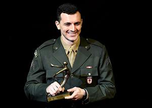 Renzo ganhou ouro nos 6º Jogos Mundiais Militares