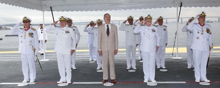 Bons ventos e mares tranquilos para o Almirante Bento