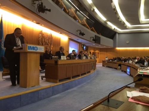 Discurso do Almirante-de-Esquadra (RM1) Monteiro Lopes, representante permanente do Brasil junto à IMO