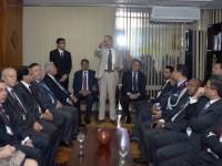 Ministro Aldo Rebelo e os embaixadores dos países árabes se reúnem no Ministério da Defesa