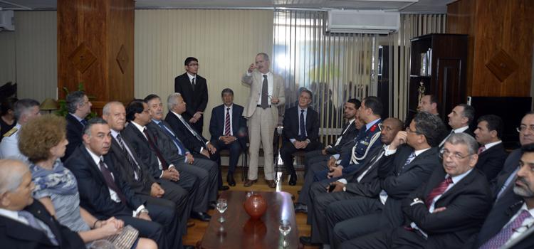 Aldo Rebelo e embaixadores árabes intensificam diálogo no setor de Defesa