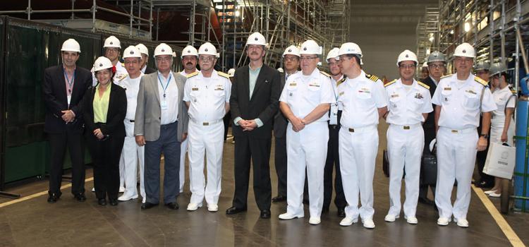 Programa de submarinos deve ser plenamente cumprido, diz Aldo