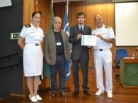 Diretor do CCEMSP premia o ex-aluno Vitor Tonzar Chaves