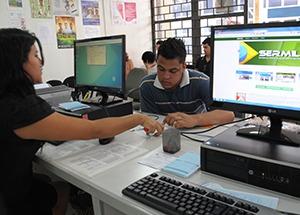 Jovens de nove estados poderão fazer alistamento militar pela internet