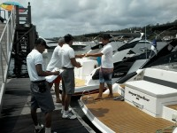 Abordagem de embarcações
